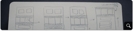 Animation transition sketches