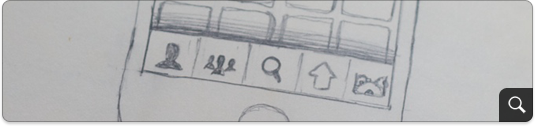 Tab layout sketch